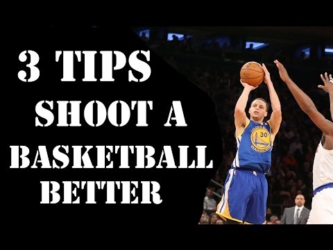 demonstration speech on how to shoot a basketball Well im doing a speech about the fundamentals of being a point guard for my speech class and i dont know how to start off.
