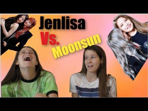 NON KPOP FANS REACT TO JENLISA VS MOONSUN 블랙핑크 마마무 PART 2
