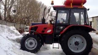 1. Переоборудование на газодизель (установка ГБО). Трактор МТЗ газодизель (ГБО).