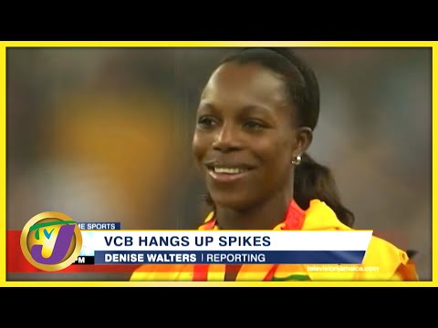 Jamaica's Sprinter Veronica Campbell-Brown Hang up Spikes