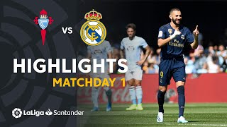 Highlights Rc Celta Vs Real Madrid 1-3