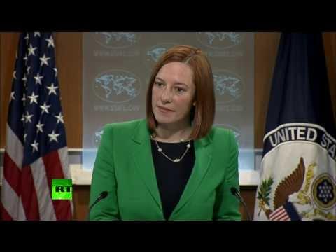 Blame game backfire: US State Dept's Psaki in Simferopol bullet dodge