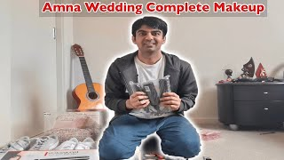 Kitchen With Amna Ka Complete Wedding Makeup l Life With Umair