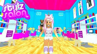 Roblox Stylz Salon & Spa Giving My Fans Makeovers
