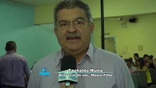 Teobaldo Muniz Lançamento do programa SINALIZE em Quixeré