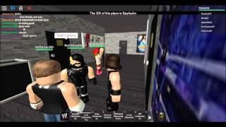 Roblox - WWE 2K15 - Le Bouclier revient pour détruire John Cena