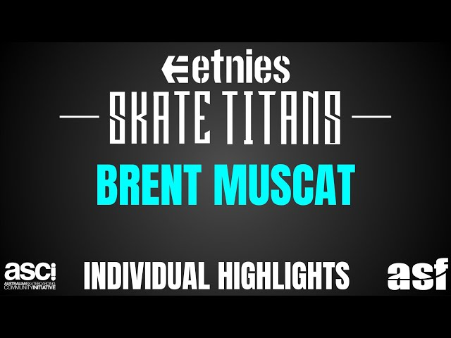 Brent Muscat Highlights - Townsville Northshore Skate Titans 2018