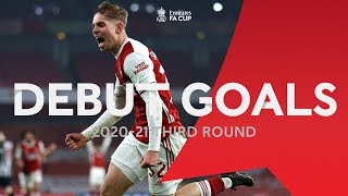 FA Cup Debut Goals In The Third Round | Werner, Smith Rowe, Vinícius, Barry | Emirates FA Cup 20-21