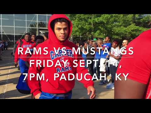 Rams Send Off For McCracken Co Game In Paducah, Ky