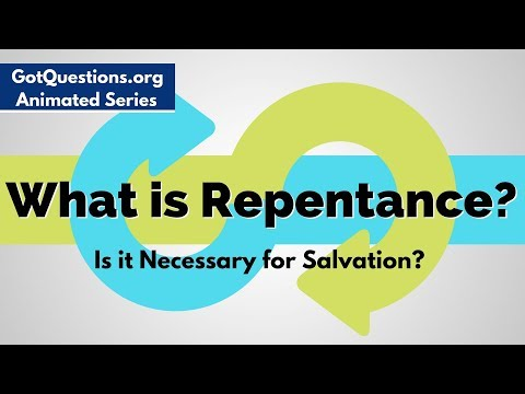 What is repentance and is it necessary for salvation? | GotQuestions org
