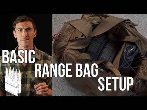 Basics of Range Bags (What to bring to the range)