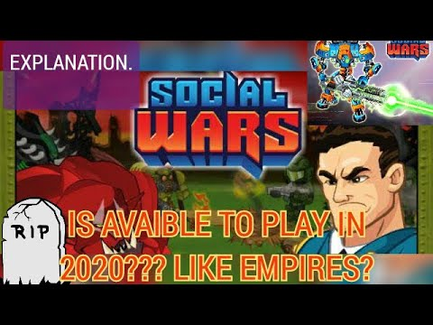 Social Wars 2020 UPDATE! can actually be played?