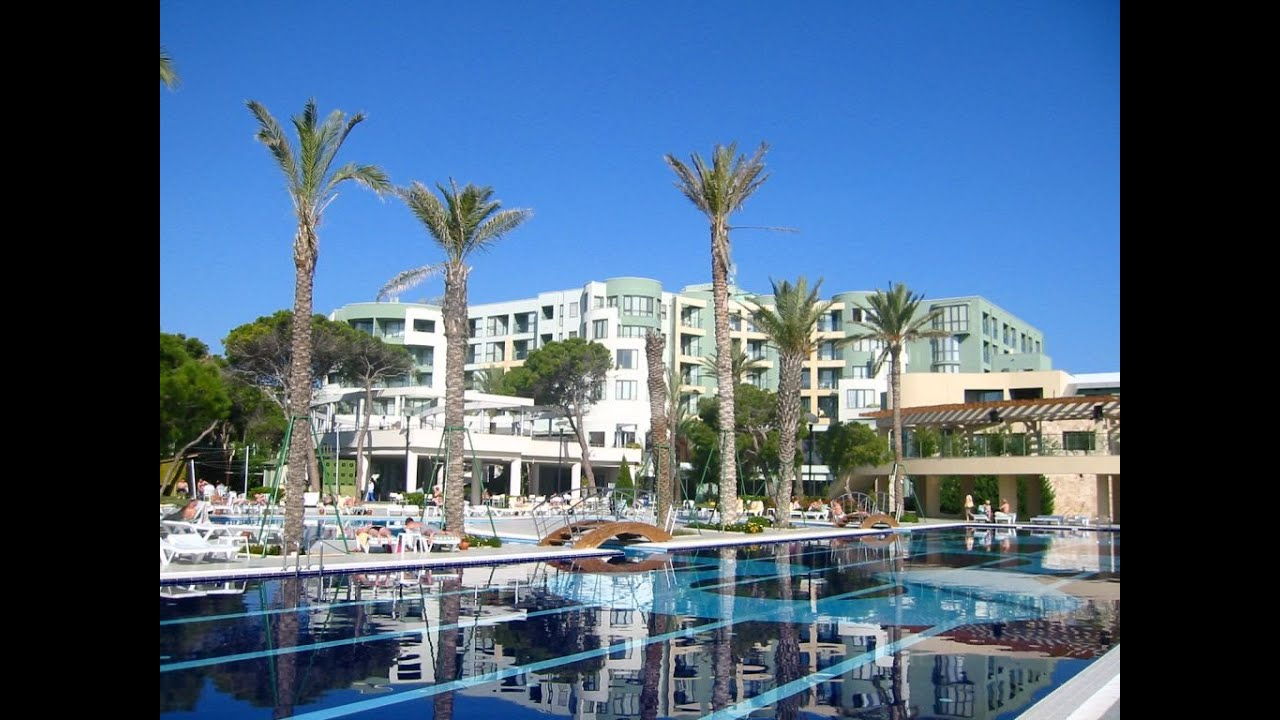 отели турции,Limak Atlantis De Luxe Hotel & Resort 5 - YouTube