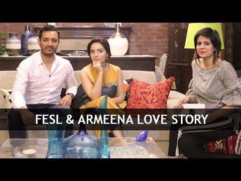 Fesl & Armeena Khan Love Story