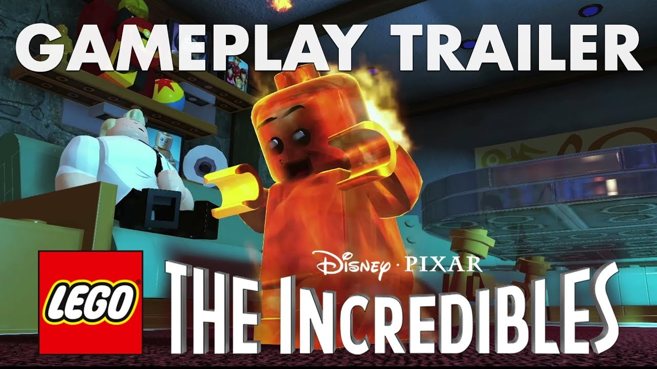 Lego The Incredibles Parr Family Gameplay Trailer Dansk Youtube