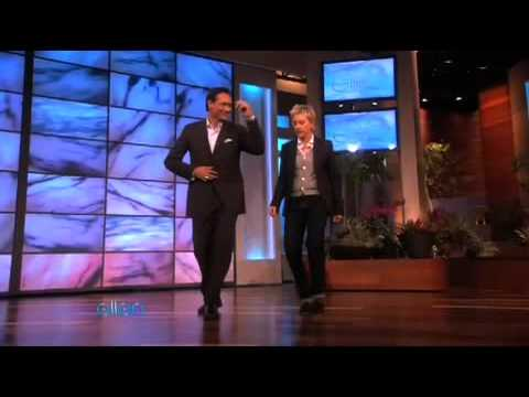 Jimmy Smits Salsas with Ellen