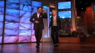 Jimmy Smits Salsas with Ellen