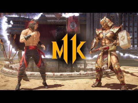 Mortal Kombat 11 - Liu Kang vs. Shao Kahn