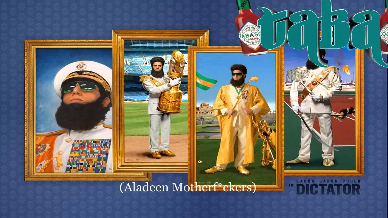 The Dictator Aladeen Song Lyrics Arabic | MP3 Download