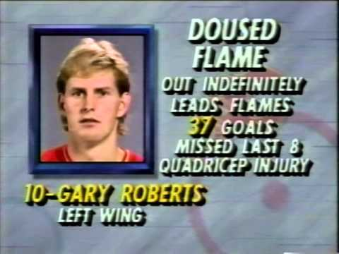 NHL Lighting Tonight pregame show 3/6/1993 PART 1/2