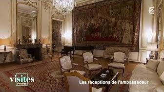L' ambassade de Suisse - Visites privées