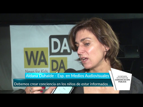 """""""Debemos crear conciencia en los niños de estar informados"""" - Tucumán Gobierno"""