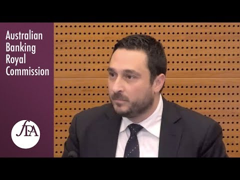The CEO of the Financial Planning Association of Australia testifies at the Banking Royal Commission