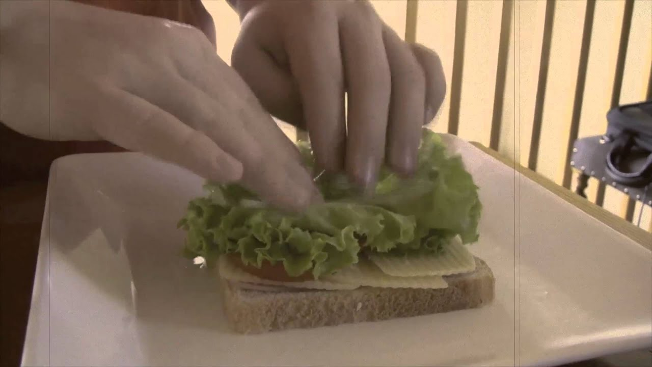How To Make The Heavy Sandwich Youtube