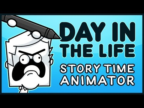 A Day in the Life of a Story Time Animator...
