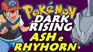 Pokémon Dark Rising (Detonado - Parte 8) - Ash, S. S. Ticket e Rhyhorn