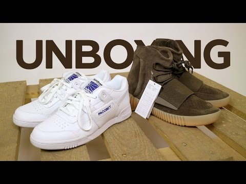 20fa1c480882 Сегодня у нас на распаковке достаточно редкие кроссовки  коллаборация Reebok  Workout Plus G x Gosha Rubchinskiy с брендингом