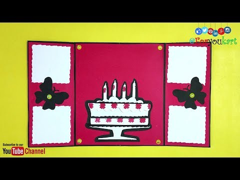 Birthday Card For Best Friend | Handmade Greeting Cards For Birthday