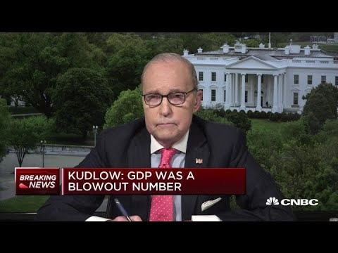 Larry Kudlow: Strong US economy provides leverage in China trade talks