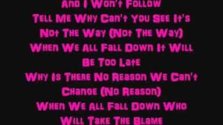 Sum 41 no reason, Subscribe for more sum 41 videos lyrics, No reaso...
