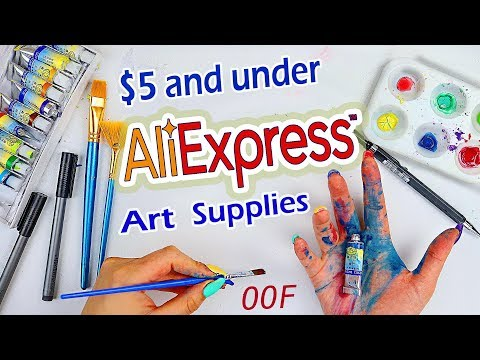 A BIG OOF... Trying AliExpress Art Supplies