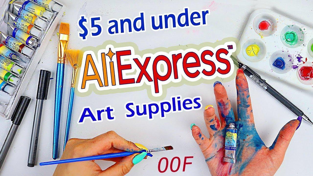 Trying aliexpress art supplies