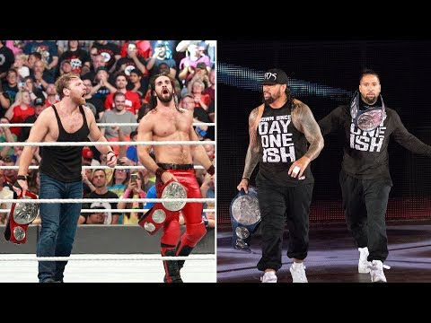 Seth Rollins & Dean Ambrose and The Usos tease interpromotional title war Mp3