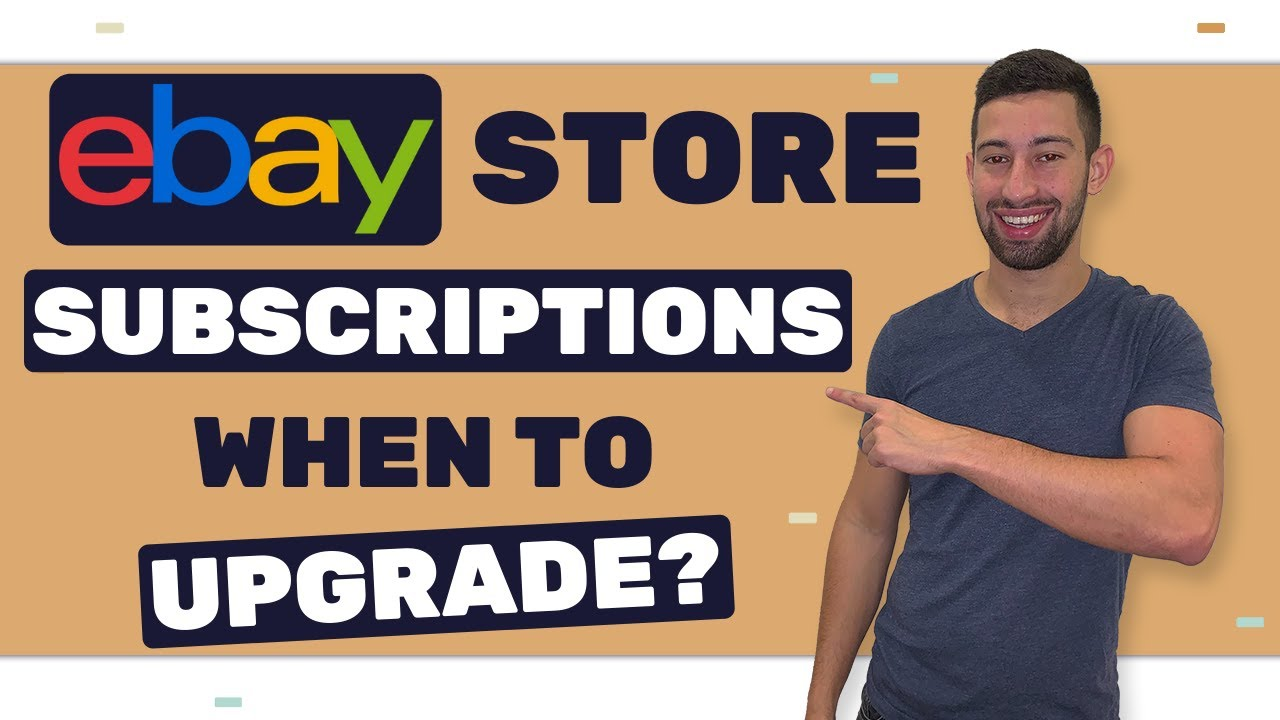 Ebay New Insertion Fees Update Which Ebay Store Subscription Should You Take Youtube
