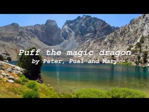 Puff the magic dragon with lyrics