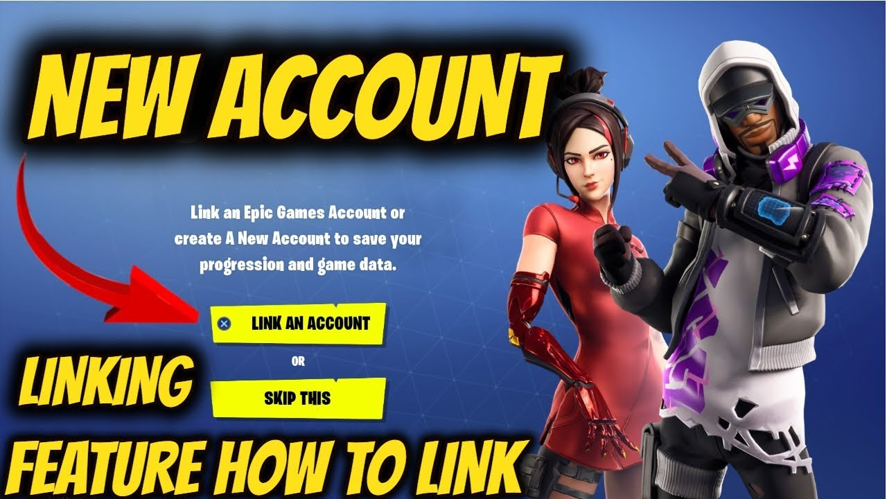 FORTNITE How To Link Epic Account On PS4 (NEW FEATURE ...