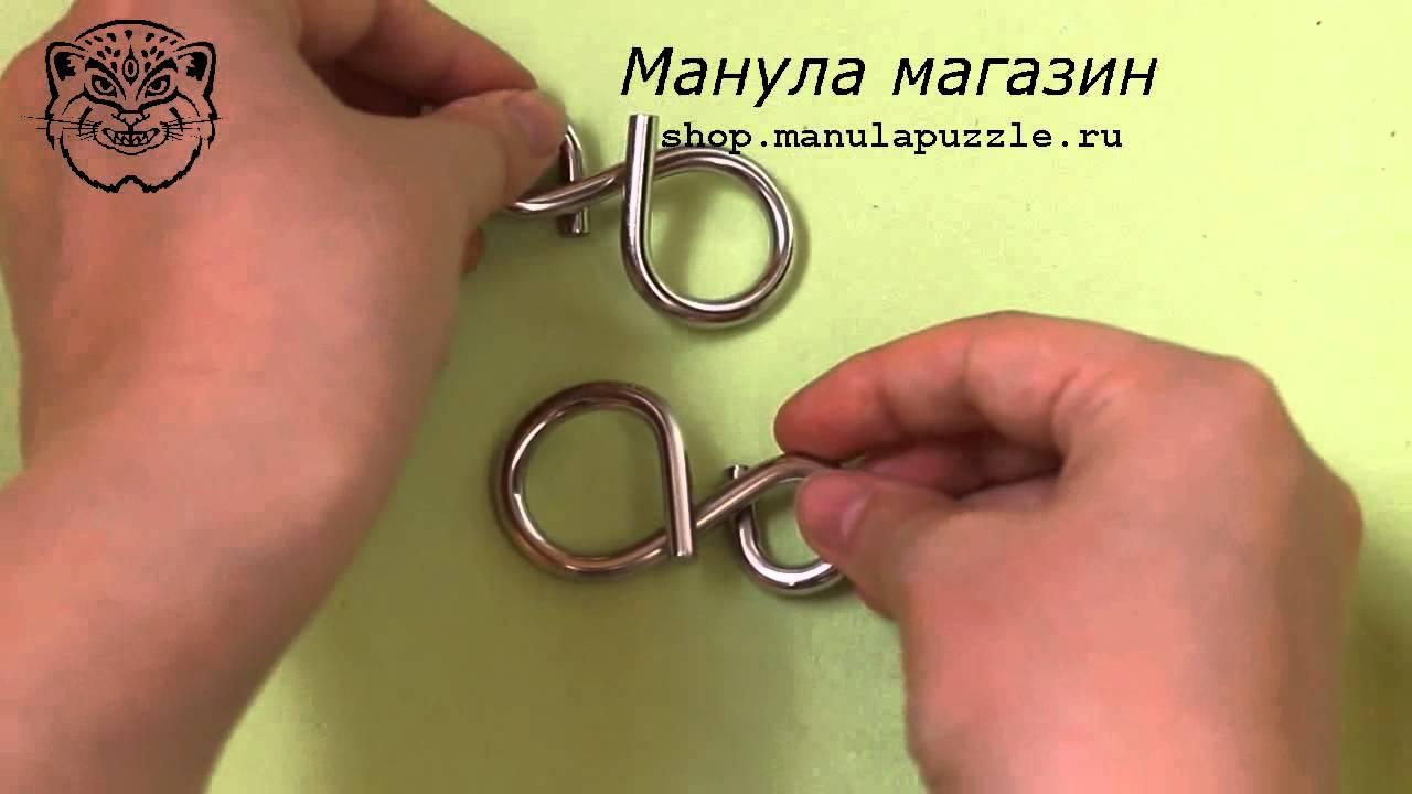 Инструкция по разборке головоломки cast chain