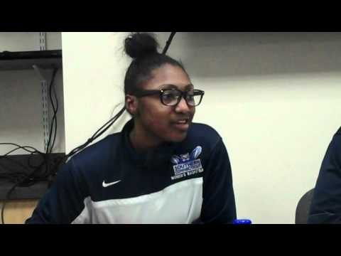 Sylvonya Moore CW Post post game interview