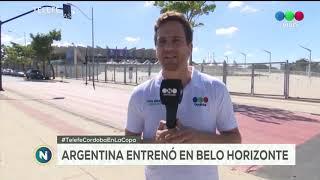 Telefe Noticias en Brasil, terminó la primera fecha de la Copa América y Argentina se prepara para e