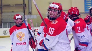 Выставочный матч. Россия U16 - Белоруссия U17 - 6:1