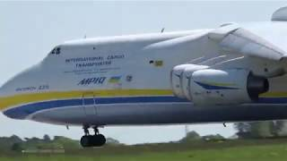 GIANT ANTONOV AN-225 - Amazing Takeoff