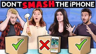 Don't SMASH The iPhone (Couple vs BFFs) | Challenge Chalice