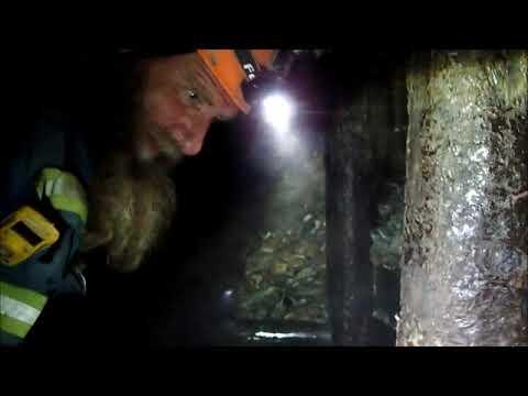 Exploring A  Dangerous Placer Gold Mining Adit.