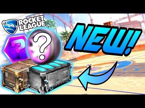 Rocket League Update: 2 NEW CRATES, BLACK MARKETS, SECRETS, Twinzer (Salty Shores Gameplay/Goals)