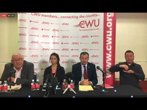 The CWU Strike Ballot is announced - and it