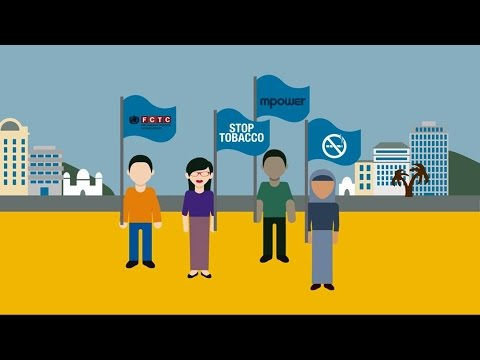 Implement the WHO tools to reduce tobacco use